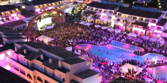 Ibiza Beach Hotel Exterior Cladding
