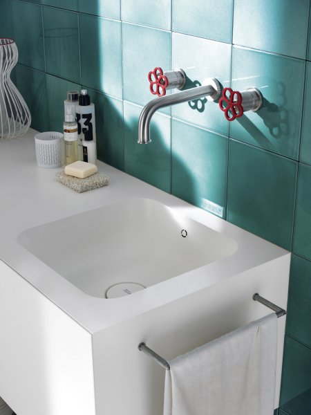 Basins corian solid surfaces corian - Badezimmer corian ...